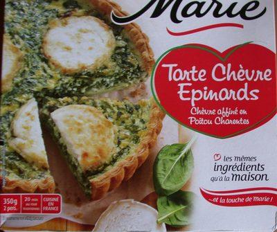 Tarte chèvre épinards Marie - Produit