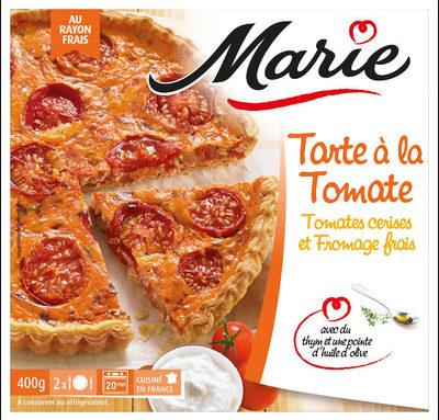 Tarte a la tomate, Tomates cerises et Fromage Frais - Product - fr