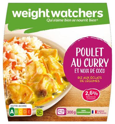 Poulet au Curry et Coco Riz au éclats de légumes - Product