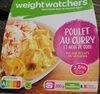 Poulet au Curry et Coco Riz au éclats de légumes - Produit