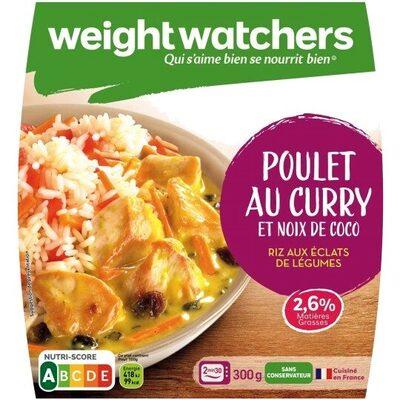 Poulet au Curry et Coco Riz au éclats de légumes - Product - fr
