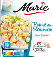 Penne au saumon et crème d'épinards - Prodotto - fr