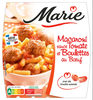 Macaroni sauce Tomate et Boulettes au boeuf - Produit