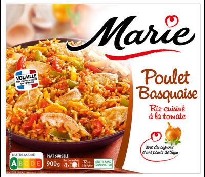 Poulet basquaise - Riz cuisiné aux tomates - Produit - fr