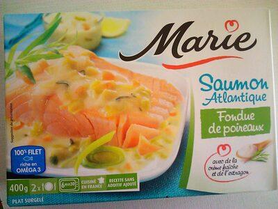 Saumon Atlantique & Fondue de Poireaux - Produit - fr