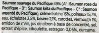Saumon Atlantique & Fondue de Poireaux - Ingrédients - fr