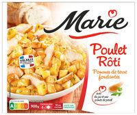 Poulet rôti, Pomme de terre fondantes - Produit - fr