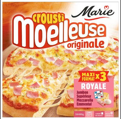CMO Royale 400g Jambon - mozzarella - emmental Présente en x3 - Produit - fr
