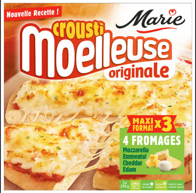 CroustiMoelleuse Originale 4 Fromages - Produit