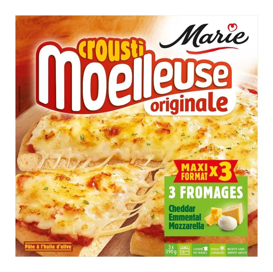 Marie Crousti Moelleuse originale 3 fromages - Product - fr