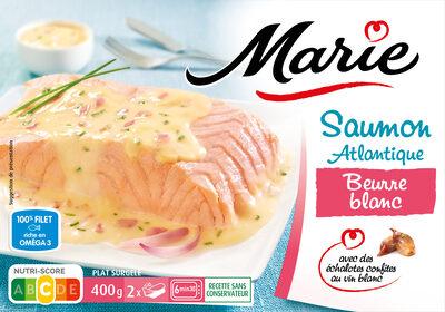 Saumon Atlantique Beurre blanc - Echalotes confites au vin blanc SALMO SALAR - Produit