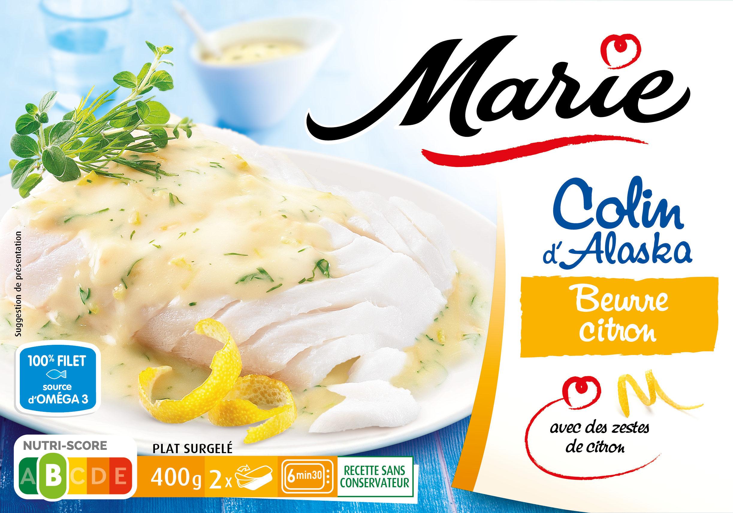 Colin d'Alaska, Beurre Citron - Produit - fr