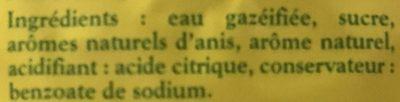 L'Ordinaire - Ingrédients - fr