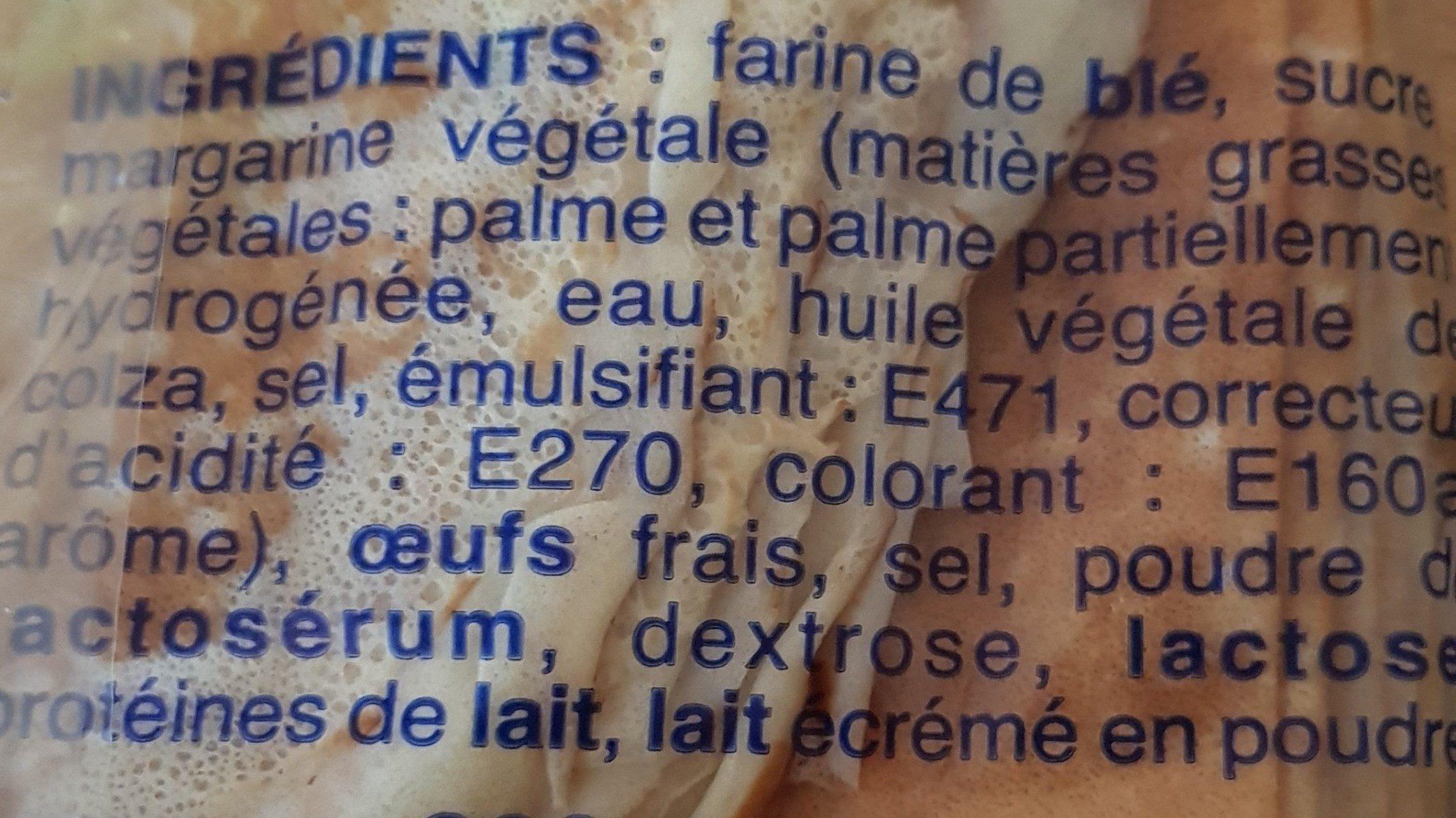 Crêpes Bretonnes X12 - Ingredients - fr