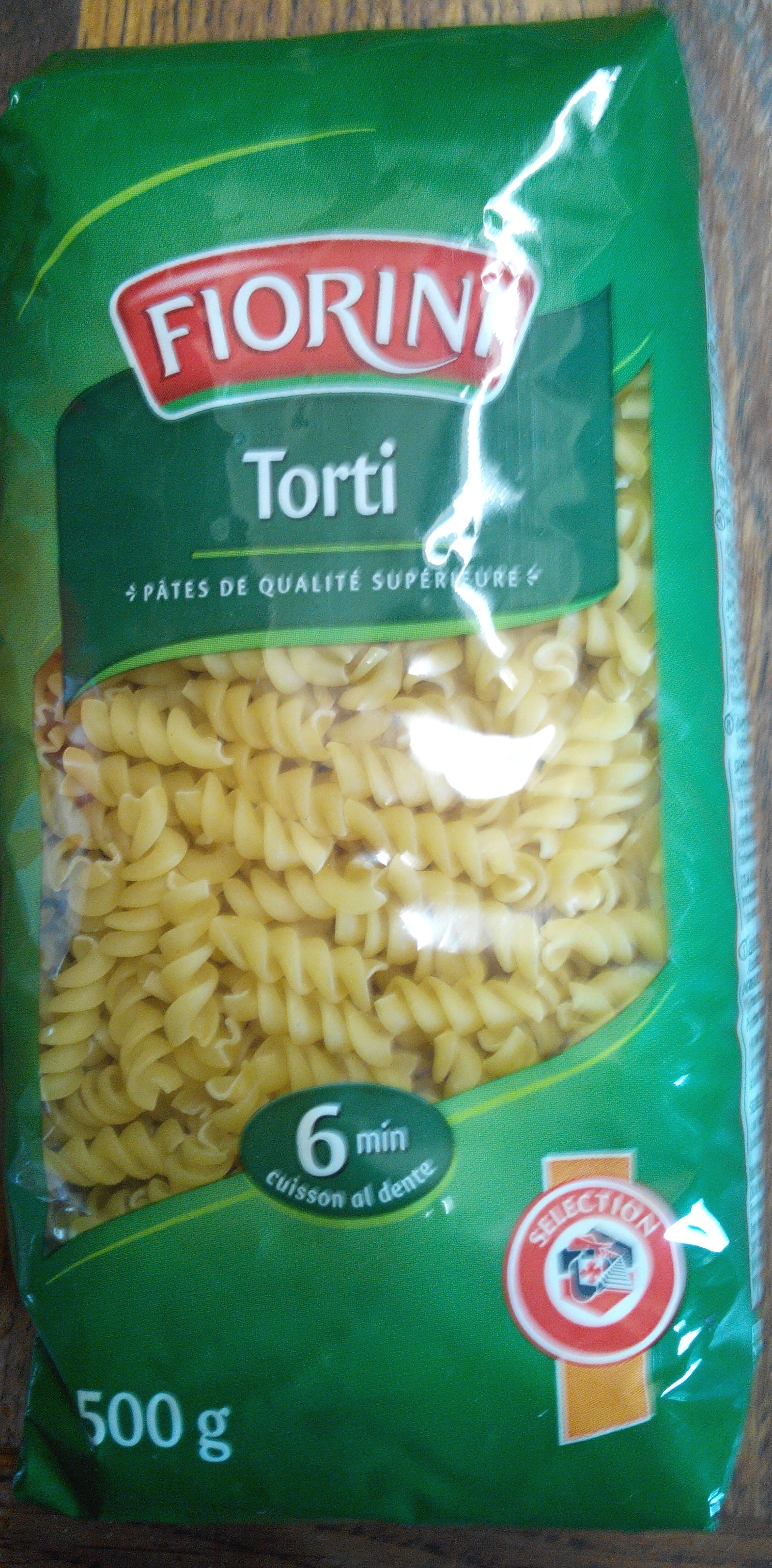 Torti 500 g - Product - fr