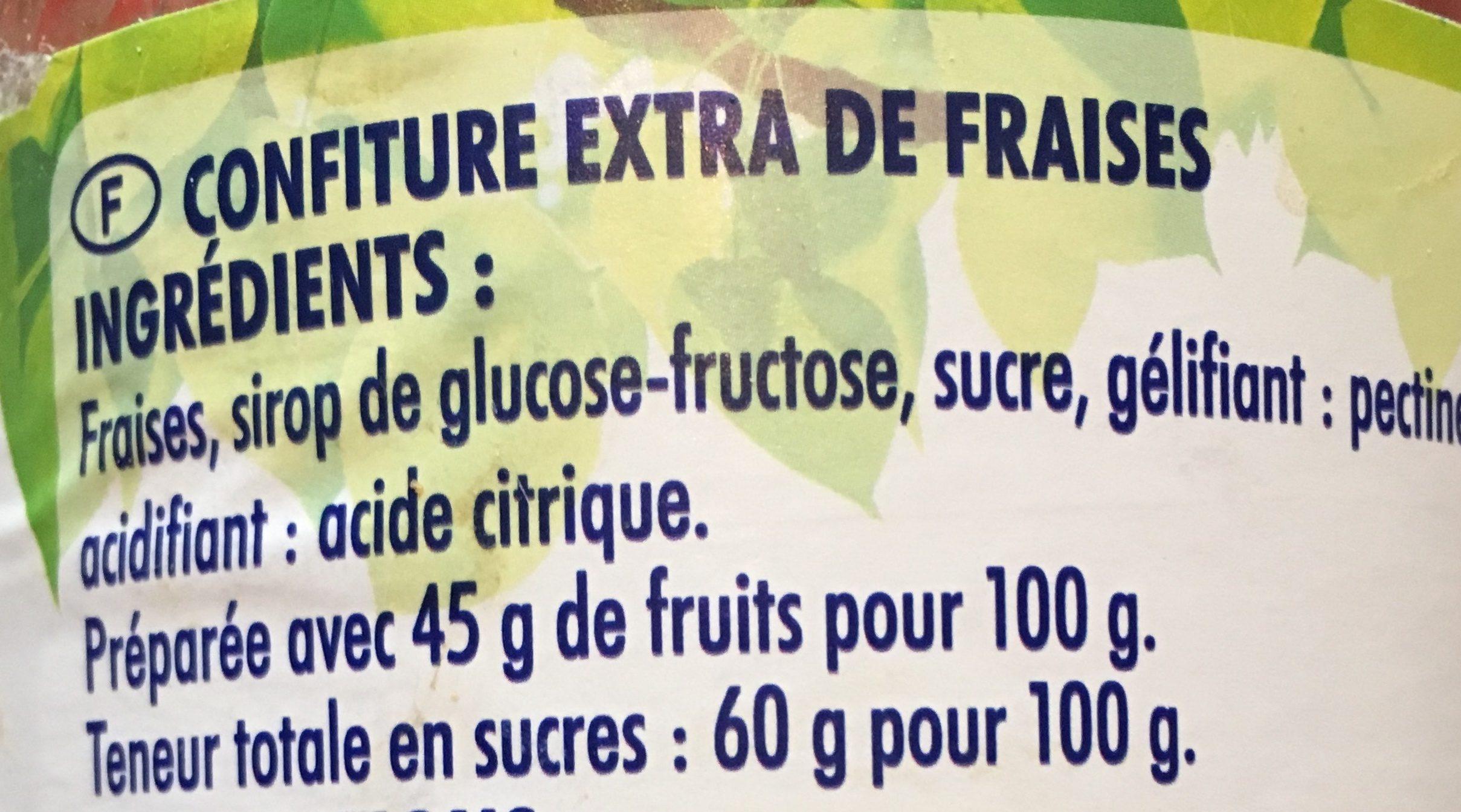 Fraise - Ingredients - fr