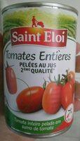 Tomates Entières Pelées au Jus 2ème qualité - Produit
