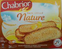 Pain grillé nature - Product