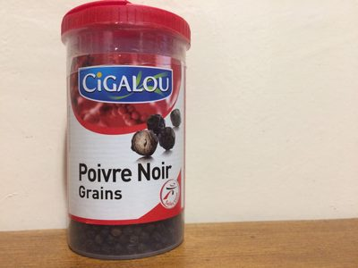 Poivre noir en grain - Product - fr
