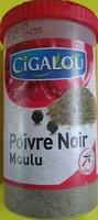 Poivre noir moulu - Product - fr