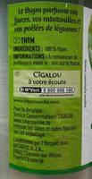 Thym en poudre - Ingredients