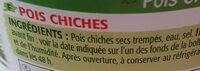 Pois chiches - Ingredienti - fr