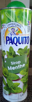 Sirop Menthe - Product
