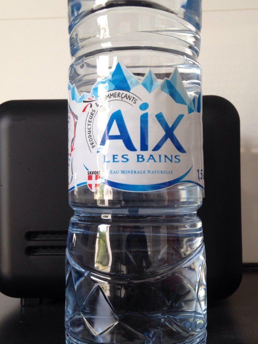 Eau minérale d'Aix les Bains - Product
