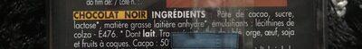 Noir Supérieur - Ingredients