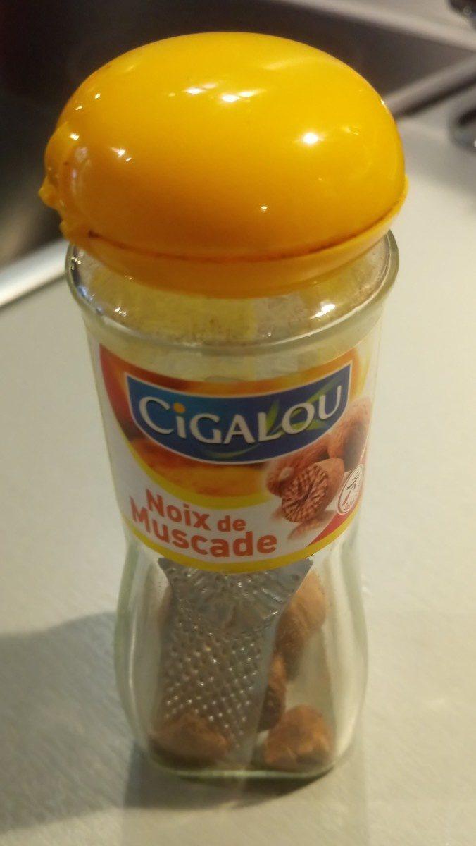 Cigalou Noix de Muscade - Ingrediënten