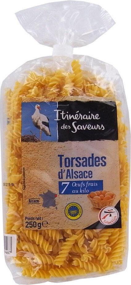 Torsades pâtes d'Alsace - Produit - fr