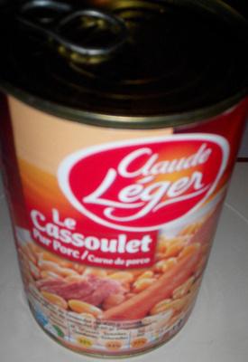 Le cassoulet Pur porc - Produit