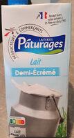 Lait Demi Ecrémé Pâturages - Product - fr
