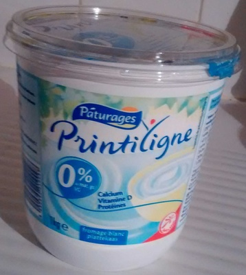 Fromage Blanc Printiligne Paturages Points Ww
