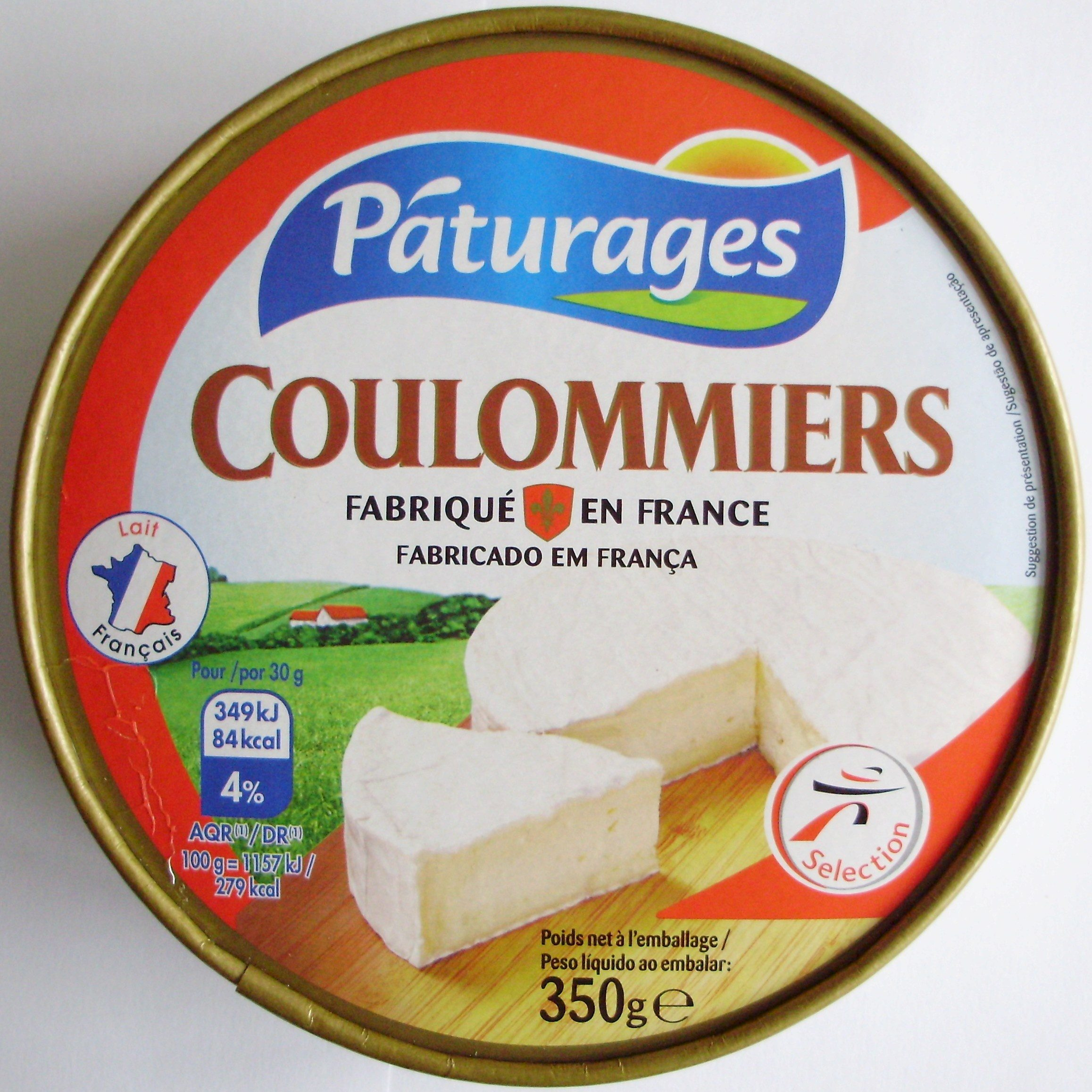 Coulommiers (23 % MG) - Produto