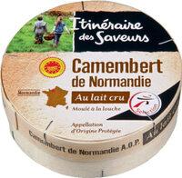 Camembert de Normandie AOP au lait cru - Product - fr
