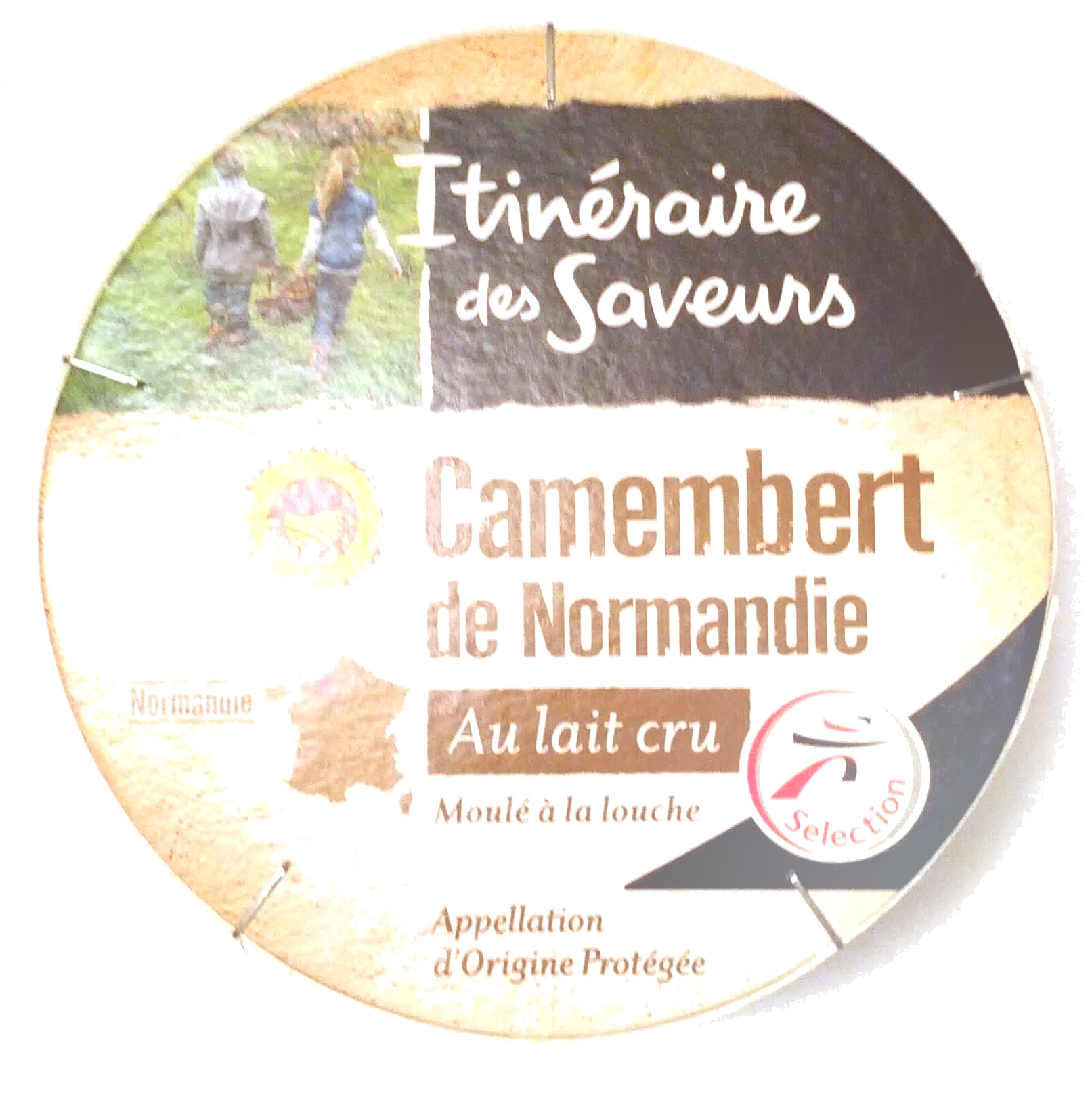 Camembert de Normandie au lait cru - Product