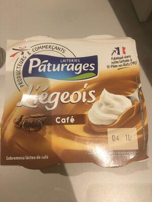 Liégeois Café Pâturages - Product