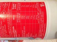 Lait Entier Pâturages - Ingredients