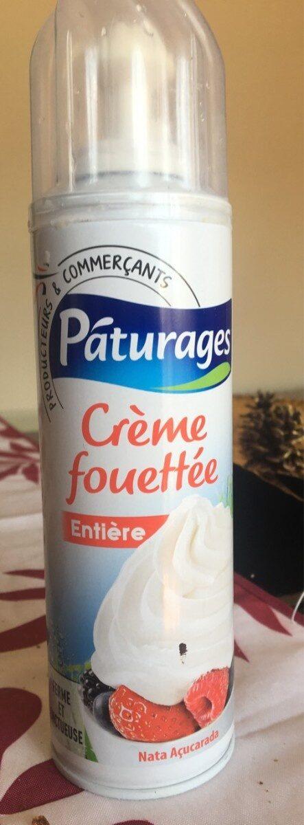 Crème fouetté entière - Produit - fr
