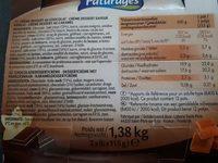 Paturette 4 chocolat 4 caramel 4 saveur vanille - Produit - fr
