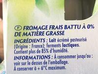 Printiligne - Ingredients - fr