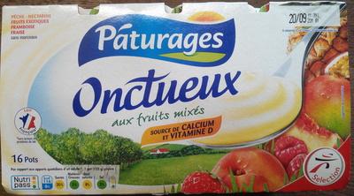 Onctueux Aux Fruits Mixés Pâturages 2 KG (16 Pots) [4 x (4 x 125 G)] - Product - fr