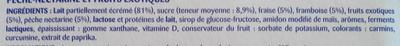 Onctueux Aux Fruits Mixés Pâturages 2 KG (16 Pots) [4 x (4 x 125 G)] - Ingrediënten - fr