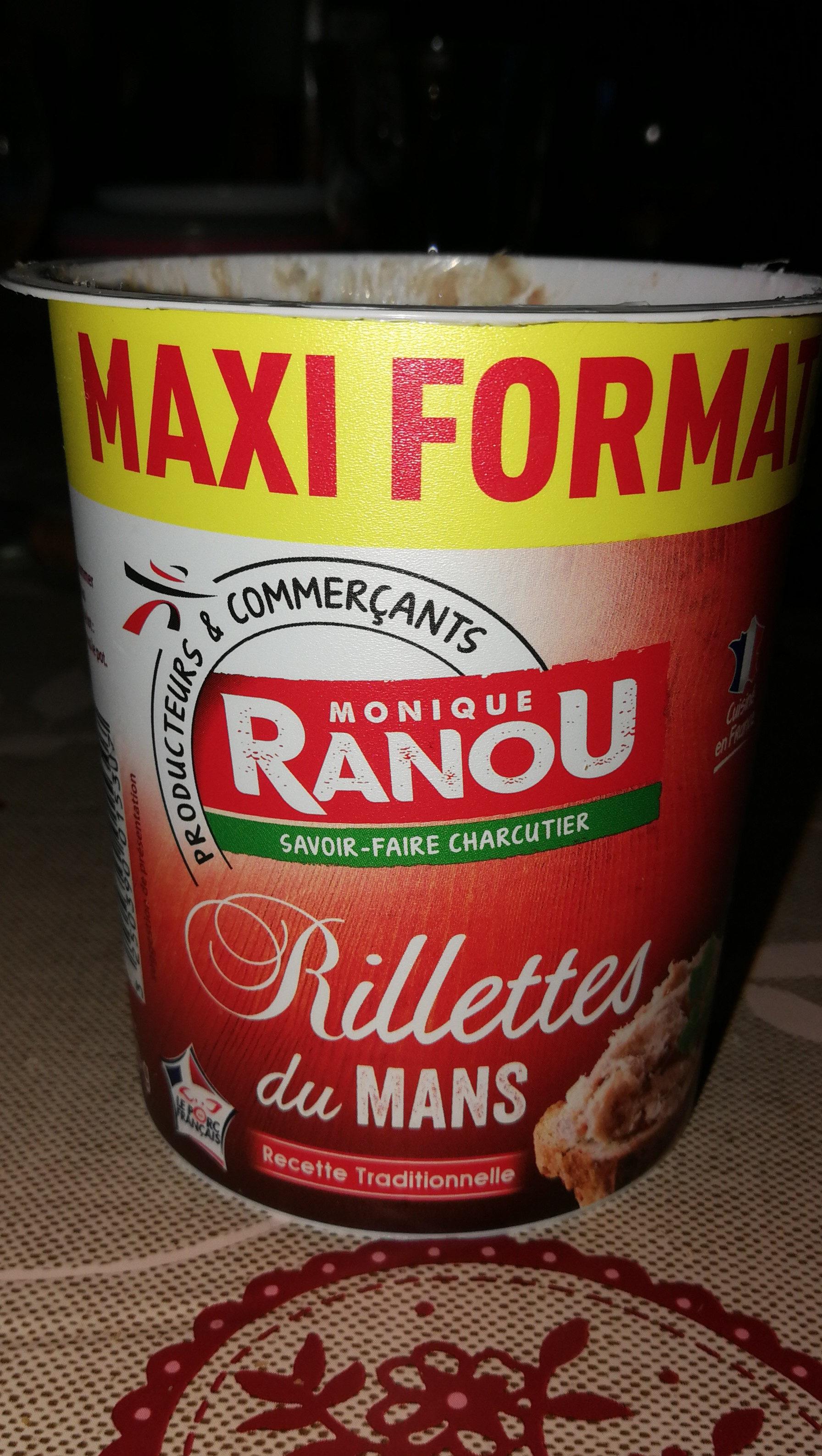 Rillettes Du Mans, Recette Traditionnelle - Produit - fr