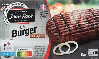 Le Burger aux oignons - Produit