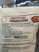 Légumes Pour Ratatouille 1 kg - Ingrédients - fr