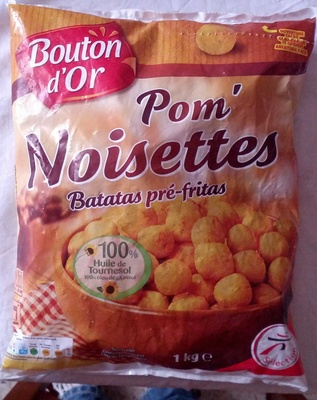 Pom' Noisettes - Produit