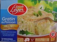 gratin de poisson à la crème fraîche - Produit - fr