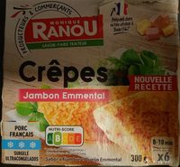 Crêpe Jambon Fromage - Produit